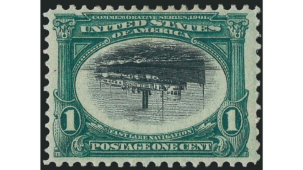 1c Pan-American