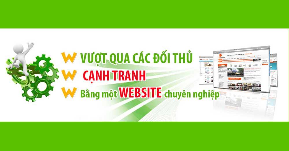 Tạo lợi thế cho doanh nghiệp bằng Website giới thiệu