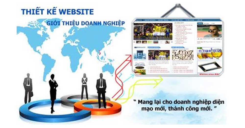 Thiết kế Website Giới thiệu Doanh Nghiệp đem lại nhiều cơ hội tiềm năng cho doanh nghiệp