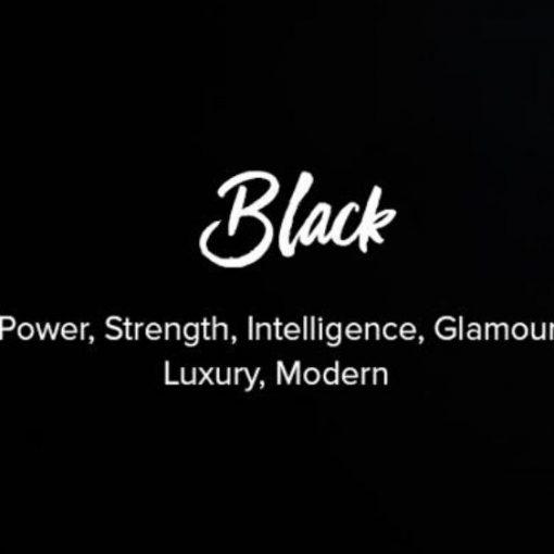 Màu thứ ba trong các trang web đen và trắng
